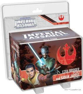 Star Wars: Imperial Assault - Ezra Bridger & Kanan Jarrus Ally Pack Ajándéktárgyak