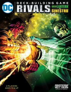 DC Comics Deck Building Game: Rivals - Green Lantern vs Sinistro Ajándéktárgyak