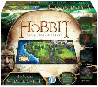 4d Cityscape Puzzle: Hobbit Ajándéktárgyak