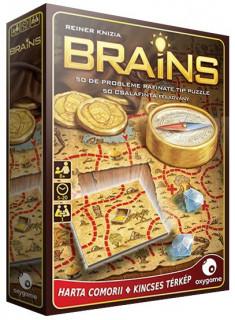 Brains: Kincses térkép AJÁNDÉKTÁRGY