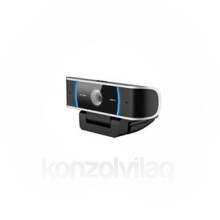 Dahua Webkamera - UZ3+ (1920x1080 30fps; MJPEG; mikrofon; auto fókusz; digitális zajszűrés;  fekete; USB)