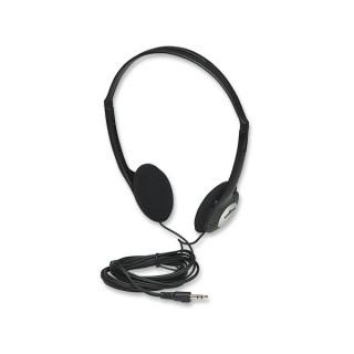 Manhattan Fejhallgató -  Sztereó fejhallgató, 2,2m vezeték, fekete PC