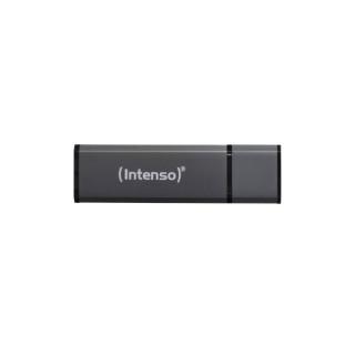 INTENSO Pendrive - 8GB USB2.0, ALU-Line, Antracite PC