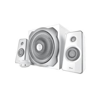 Trust Hangszóró 2.1 - Tytan Fehér (60W RMS; ERP II; hangerőszabályzó; 3,5mm jack; 230V tápcsatlakozó) PC