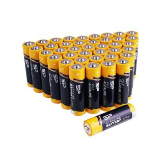 Silicon Power Elem - Alkáli elem,  40db AAA (LR3), 1,5V (no mercury)
