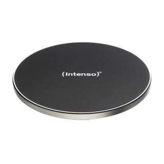 INTENSO Telefon töltő Vezeték nélküli - Wireless charger (Qi-certified,  5.0V - 2.0A, aluminium ház) Tablet