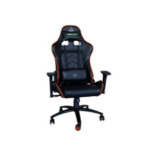 KEEP OUT szék - XS400PROO (állítható magasság;  PU; fekete-narancs) PC
