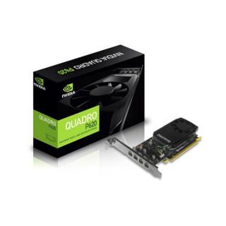 Leadtek Videókártya - Quadro P620 (2048MB, GDDR5,128bit, 384 CUDA® Cores, PCI-E 3.0 x16, 4x Mini DP, Low Profile)