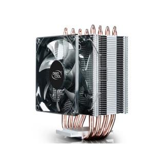 DeepCool CPU Cooler - GAMMAXX C40 (23,9dB; max. 56,06 m3/h; 4pin csatlakozó; 4 db heatpipe, 12cm, PWM) PC
