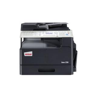 Develop Fénymásoló - Ineo 226 SET (Mono, 22ppm/A4, 12ppm/A3, 600x600dpi, GDI, 128MB, 250lap, RJ45, USB, Duplex) PC
