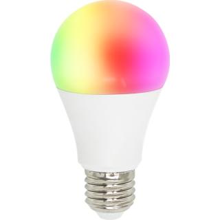 Woox Smart Home Okos Izzó - R4553 (E27, 8 Watt, 650 Lumen, 3000K, RGB, Wi-Fi, távoli elérés)