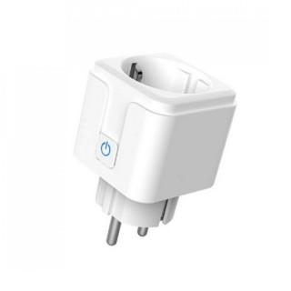 Woox Smart Home Okos Dugalj - R5024 (túláram-érzékelő, időzítő, fehér, Wi-Fi, Távoli elérés)