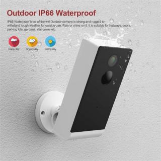 Woox Smart Home Kültéri Kamera - R4057 (1920*1080, 110 fok, mozgás és hang érzékelés, éjjellátó, Wi-Fi) Mobil