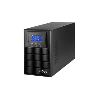 NJOY Szünetmentes  1000VA - Aten Pro 1000 (3 Schuko, USB/RS-232, On-line, szinuszhullám, generátor támogatás, Eco mód)