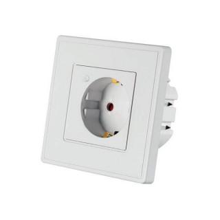Woox Smart Home Okos csatlakozó aljzat - R4054 (beltéri, 10A, 2300W, Wi-Fi, távoli elérés)