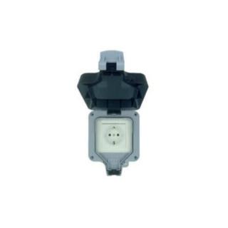 Woox Smart Home Okos csatlakozó aljzat - R4052 (kültéri, 16A, 3680W, IP66, Wi-Fi, távoli elérés)
