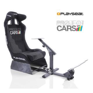 Playseat® Szimulátor cockpit - Project Cars (Tartó konzolok: kormány, váltó, pedál, összecsukható, fekete) PC