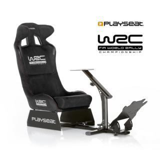 Playseat® Szimulátor cockpit - WRC (Tartó konzolok: kormány, váltó, pedál, összecsukható, fekete) PC