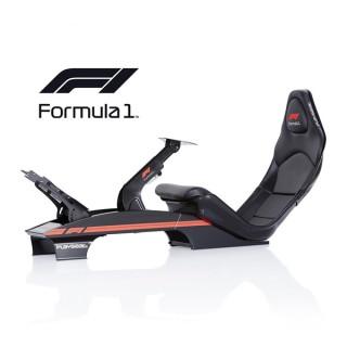 Playseat® Szimulátor cockpit - F1 BLACK (Tartó konzolok: kormány, váltó, pedál, fekete) PC