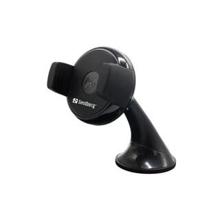 Sandberg Telefon töltő Vezeték nélküli Autós - InCar Wireless Charger (5W; szélvédő tartó; Qi; sz.gyújtó adapter szüks.) Tablet
