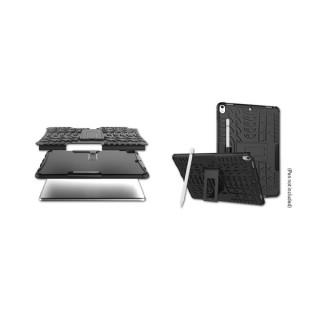 Sandberg Telefon Tok - iPhone 7/8 ActionCase (fekete, puha szilikon belső  + kemény műanyag külső burkolat) Tablet