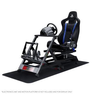 Next Level Racing Szimulátor cockpit - GTtrack PlayStation® (GT ülés; tartó konzolok: kormány, váltó, pedál, kézifék) PC