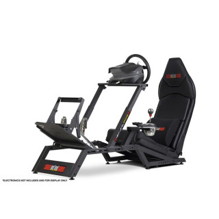 Next Level Racing Szimulátor cockpit - F-GT Formula (Formula ülés; tartó konzolok: kormány, váltó, pedál) PC