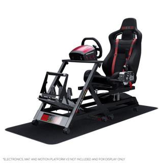 Next Level Racing Szimulátor cockpit - GTtrack (GT ülés; tartó konzolok: kormány, váltó, pedál, kézifék) PC