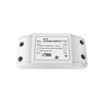 Woox Smart Home Okos Kapcsoló - R4967 (univerzális, 10A, 2300W, Wi-Fi, távoli elérés)