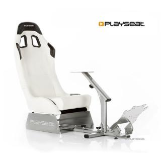 Playseat® Szimulátor cockpit - Evolution White (Tartó konzolok: kormány,váltó,pedál, összecsukható, fehér) PC