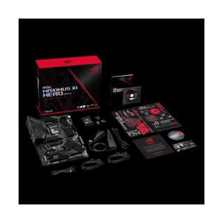 Asus Alaplap - Intel ROG MAXIMUS XI HERO (WI-FI) s1151 (Z390, 4xDDR4 4400MHz, 6xSATA3, 2xM.2, RAID, 6xUSB2.0, 9xUSB3.1) PC