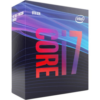 Intel Processzor - Core i7-9700 (3000Mhz 12MBL3 Cache 14nm 65W skt1151 Coffee Lake) BOX