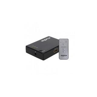 APPROX HDMI Splitter - 3 portos HDMI 1.3, 1080P távirányítóval