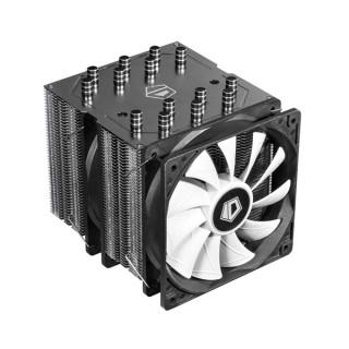 ID-Cooling CPU Cooler - SE-207 (18-35,2dB; max. 126,57 m3/h; 4pin csatlakozó, 7 db heatpipe, 2x12cm, PWM) PC