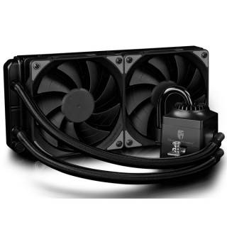 DeepCool CPU Water Cooler - CAPTAIN 240 EX RGB (17,6-31,3dB; max. 260,01 m3/h; 2x12cm) PC