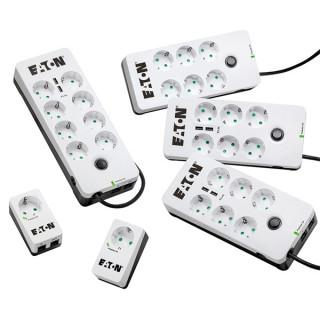 EATON túlfeszültségvédő - Protection Box 6 Tel@ USB DIN PC