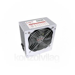 Logic Tápegység - 500W (12cm ventilátor; PFC; Hőm.vezérelt venti.; 70%os hatásfok) PC