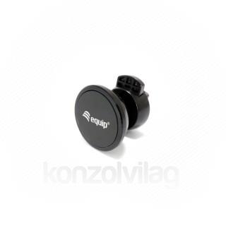 Equip-Life Autós telefon tartó - 245431 (hűtőrácsra rögzíthető, mágneses fekete)