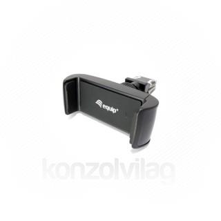 Equip-Life Autós telefon tartó - 245430 (55-85 mm, hűtőrácsra rögzíthető, fekete) Tablet