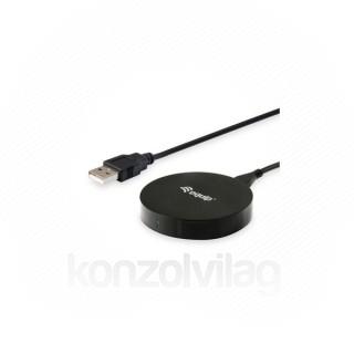 Equip-Life Telefon töltő - 245500 (Vezeték nélküli, USB, 5W, fekete)