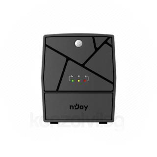 NJOY Szünetmentes  1000VA - Keen 1000 USB (4 Schuko, line-interaktív, USB menedzsment, RJ11/45 vonalvédelem, fekete)