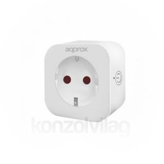 APPROX Okos dugalj - WiFi; Távoli hozzáférés; Ütemezés; Távoli mód (2.4Ghz 802.11b/ g / n) Mobil