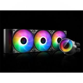 DeepCool CPU Water Cooler - CASTLE 360RGB V2 (max 30dB; max. 117,80 m3/h; 3x12cm) PC