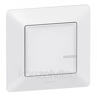 NETATMO kapcsoló - Intelligens fényerőszabályozó + kompenzátor Valena Life fehér (40mm mély süllyesztődobozba)