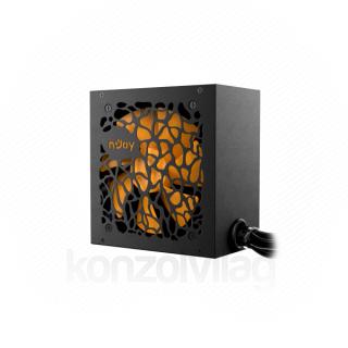 NJOY Tápegység 700W - Titan+ 700 (80 Plus, Aktív PFC, 12cm) PC