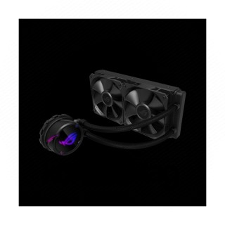 Asus CPU Water Cooler - ROG STRIX LC 240 (All-in-One, Aura Sync RGB, 37,6dB; 2500 RPM; 2x12cm, fekete) PC