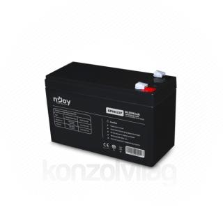NJOY Szünetmentes akkumulátor - GP09122F (12V/9Ah, T2/F2, zárt, gondozás mentes, AGM) PC