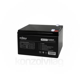 NJOY Szünetmentes akkumulátor - GP12122F (12V/12Ah, T2/F2, zárt, gondozás mentes, AGM) PC
