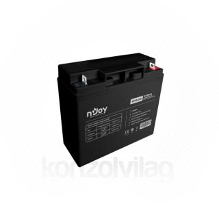 NJOY akkumulátor - GP1812CF (12V/18Ah, T3, zárt, gondozás mentes, AGM) PC