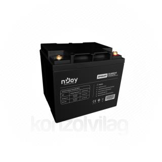 NJOY akkumulátor - GP4012FF (12V/40Ah, T6, zárt, gondozás mentes, AGM)